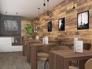 Container cafe: Bar & Club in stile  di Studio Maiden