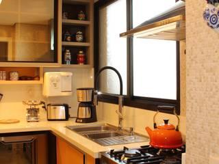 Cozinha Apartamento Bosques por João Linck | Arquitetura Moderno