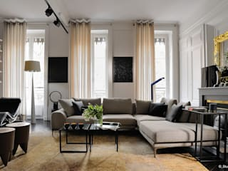 Franck VADOT Architecture Living roomSide tables & trays