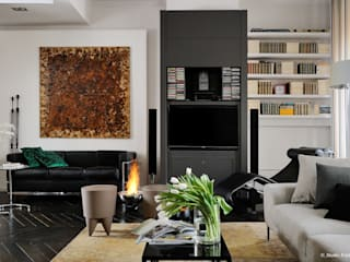 Franck VADOT Architecture Living roomTV stands & cabinets