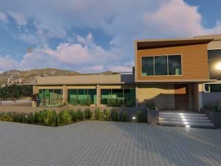 Casas estilo moderno: ideas, arquitectura e imágenes de GMS ARQUITECTOS, C.A. Moderno