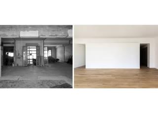 Ristrutturazione appartamento SD Soggiorno minimalista di studio di architettura Antonio Giummarra Minimalista