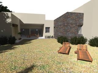 Vivienda en Colonia Tirolesa:  de estilo  por Eh! Arquitectura