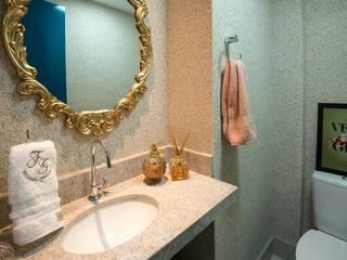 Apartamento FG Banheiros modernos por Talitha Filipe Arquitetura Moderno