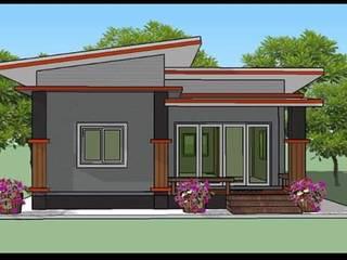 by รับสร้างบ้าน แบบบ้านราคาถูก by bank