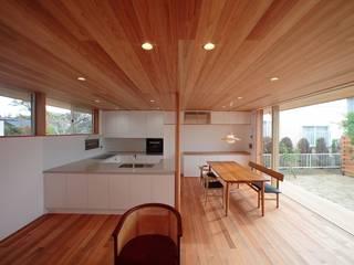 Sn-house モダンデザインの リビング の 長谷守保 建築計画 モダン