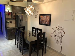 Residence Interior design:  Dining room by planodecor