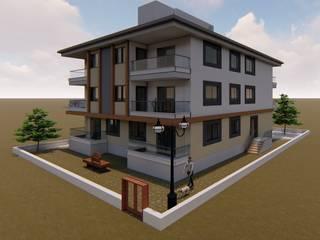ÖZÇEKİRGE İNŞAAT LTD ŞTİ – Kumsal Projesi:  tarz Apartman