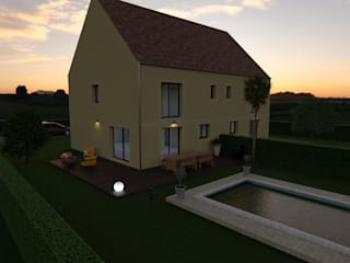 Un bâti, deux logement... par MARNOUJ Immobilier Classique