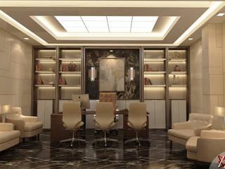 KANWAR ENTERPRISE OFFICE PROJECT BY MAD DESIGN: minimalist  by MAD Design,Minimalist
