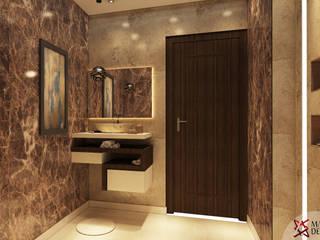 MASTER BATHROOM:  Bathroom by MAD Design