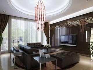 GESSA PROJE Klasik Oturma Odası gessaproje Klasik