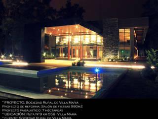Sociedad Rural de Villa Maria Estudios y oficinas modernos de Arq Jennifer Morant Moderno
