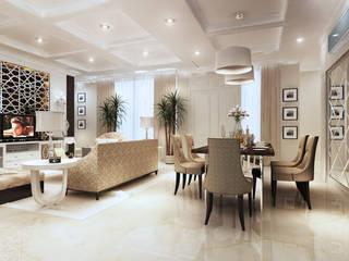 LIVING ROOM Ruang Keluarga Klasik Oleh Mitrasasana - Design & Build Klasik