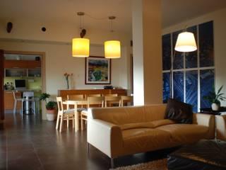 Casa G&C Soggiorno moderno di CalìArchitetti Moderno