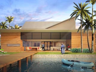 YK HOUSE:  Rumah by midun and partners architect