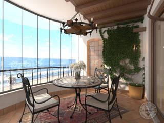Orkun BULUT Balcony Copper/Bronze/Brass Beige