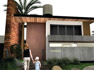 CASA DO LAGO Casas modernas por PRB ARQUITETURA Moderno