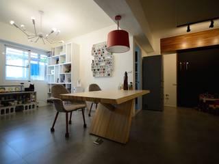 輕工業風活潑住家設計 根據 大觀創境空間設計事務所 工業風