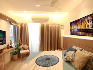Bedroom :   by Aesthos Interior Design and Consultancy