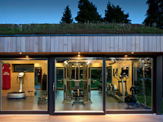 Ecospace Italia srl Modern gym Wood Wood effect