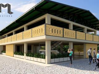Proyecto Anzoátegui Taller 3M Arquitectura & Construcción Fincas Madera Amarillo