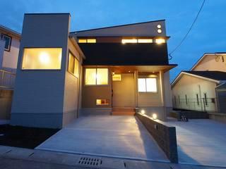 Hillside House の 徳永建築事務所 オリジナル