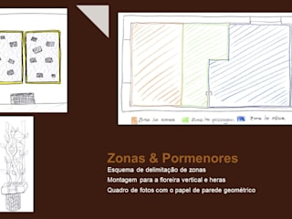 Pormenores DIY e zonas:   por Andreia Design