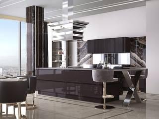 Luxury apartment in Dubai:  в . Автор – KURILOVICH DESIGN & ARCHITECTURE