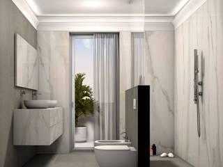 クラシックスタイルの お風呂・バスルーム の Fratelli Pellizzari spa クラシック