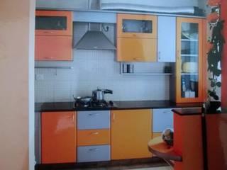 Orange County Indirapuram Asian style kitchen by hearth n home Asian