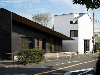 小さな店舗のある住宅 OUCHI-39 の 石川淳建築設計事務所 ミニマル