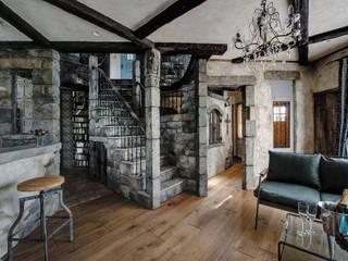 素敵な魔法がかけられた住まい〜A様邸〜 クラシックデザインの リビング の 有限会社グリーンアンドハウス クラシック