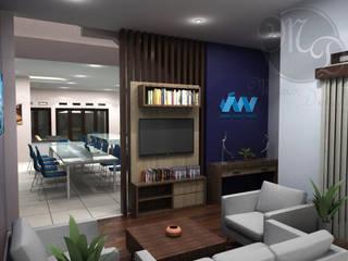 Kantor Javan Bandung Kantor & Toko Modern Oleh Maxx Details Modern