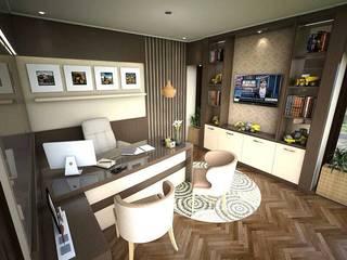 Ruang kantor 3.2 Kantor & Toko Modern Oleh Maxx Details Modern