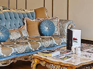 Palmiye Koçak Sandalye Masa Koltuk Mobilya Dekorasyon – Klasik Koltuk:  tarz
