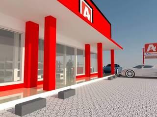 Project Minimarket Alfamidi Oleh Designer Banten
