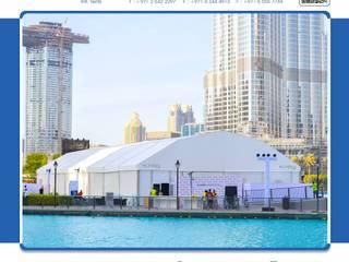 Event Venue Gaya Asia Oleh AL FARES INTERNATIONAL TENTS Asia