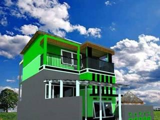 Project rumah type 30/60 Oleh Designer Banten