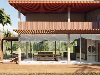 Casa de Campo: Casas  por Fabiane Franco Arquiteta