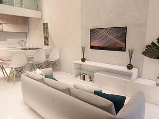 Apartamento :   por Fabiane Franco Arquiteta