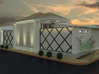 Lozí - Projeto e Obra Casas de estilo colonial