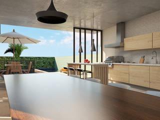 Lozí - Projeto e Obra Garajes de estilo moderno