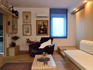 Casa RN 15 Soggiorno moderno di CalìArchitetti Moderno