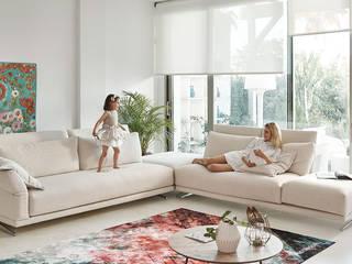 sofas a medida: Salones de estilo  de muebles yaiza
