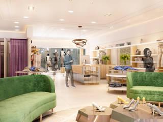 Lozí - Projeto e Obra Salones de estilo moderno