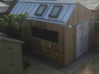 The Ungrateful shed Modern garage/shed by The Ungrateful shed company Modern