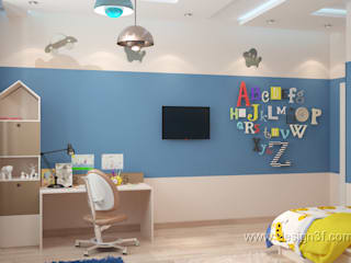 студия Design3F Nursery/kid's room White