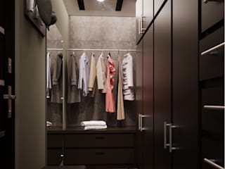 Dressing room by KORBA Arquitectos