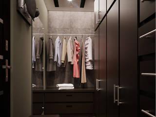Minimalist dressing room by KORBA Arquitectos Minimalist
